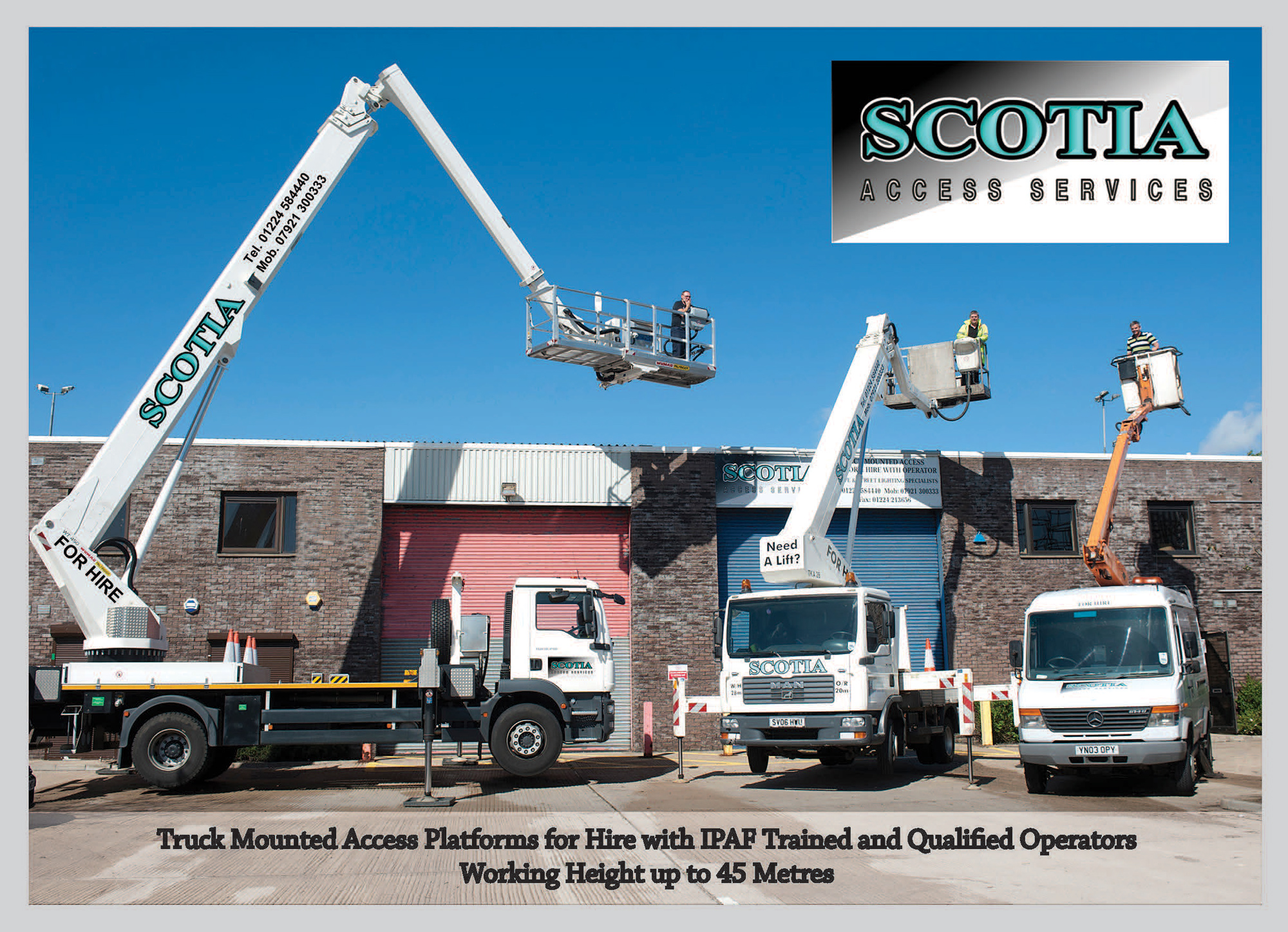 Scotia Access Aberdeen